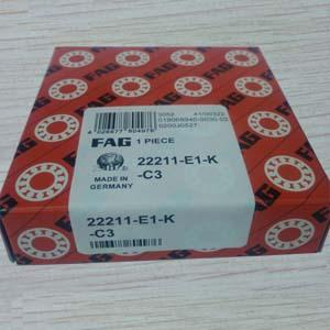FAG 22211-E1-K-C3 Spherical roller bearing