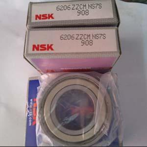 NSK 6206ZZCM NS7S Deep groove ball bearings